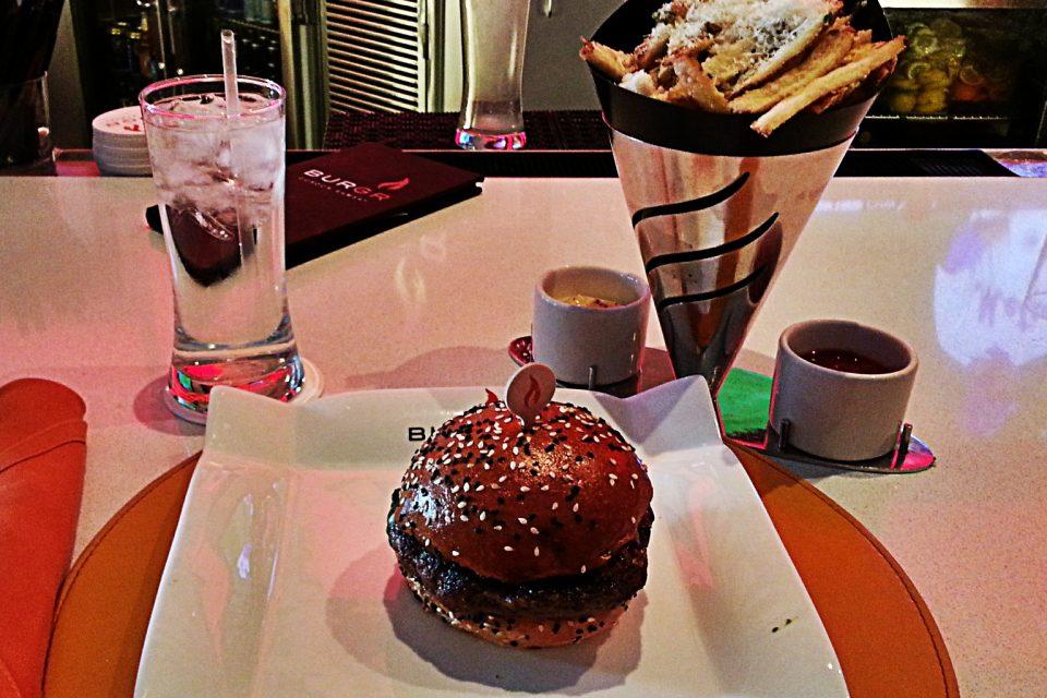 Gordon Ramsay BurGR - Blue Burger