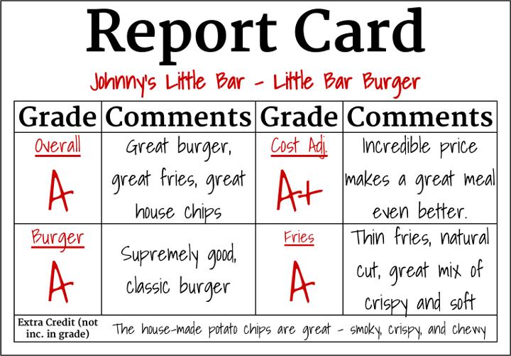 Johnny's Little Bar - Little Bar Burger
